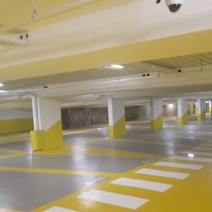 Novassol Parking_Resine epoxy épais_PK Gaudin à Bastia