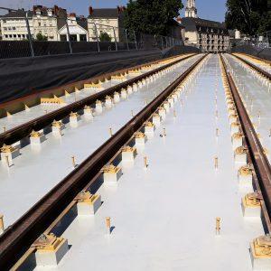 Sinotane_Etancheite résine_Tablier pont tramway Angers(